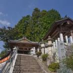 拝殿に向かう階段