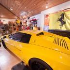 フェラーリ実車展示