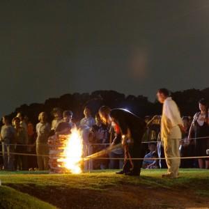奈良大文字の送り火