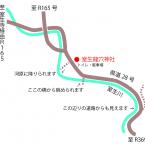 室生龍穴神社マップ