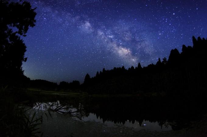 龍王ヶ淵の銀河