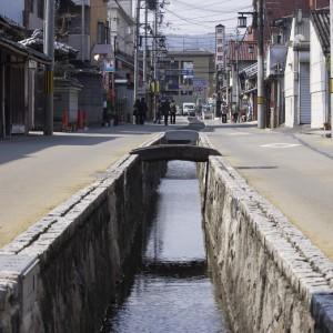 大和郡山の古い街並み