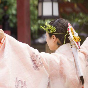 三枝祭(ゆり祭)